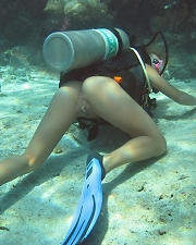 Hot photo of Diver